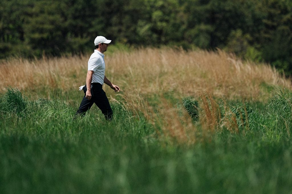 The fescue at Bethpage is no joke.