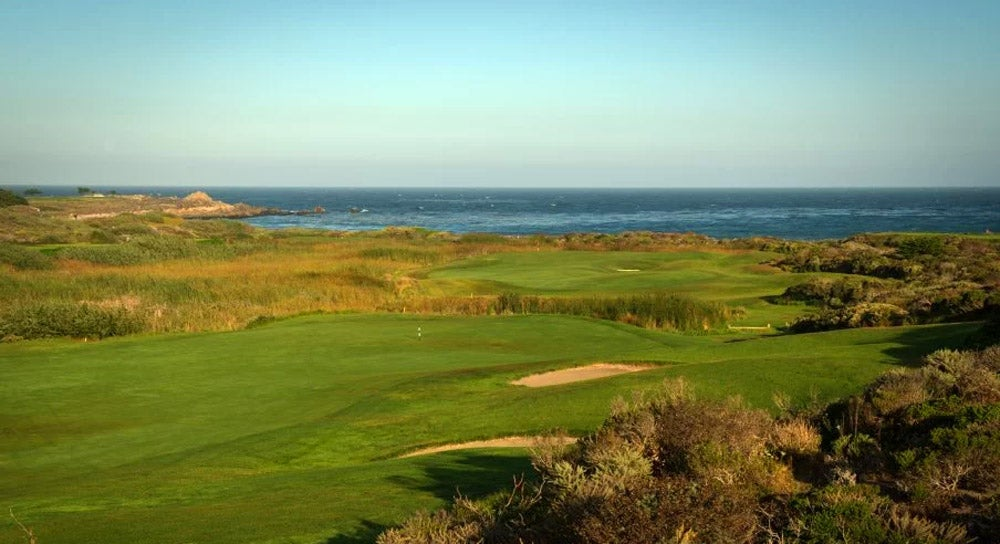 The 4th hole at The Links at Spanish bay