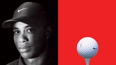 Tiger Woods' golf ball from Nike