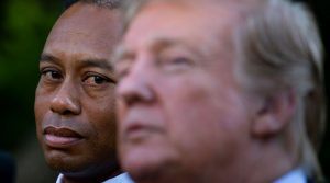 Tiger Woods Medal of Freedom ceremony at the White House