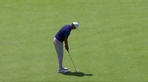 Tiger Woods eagle at 2019 PGA Championship