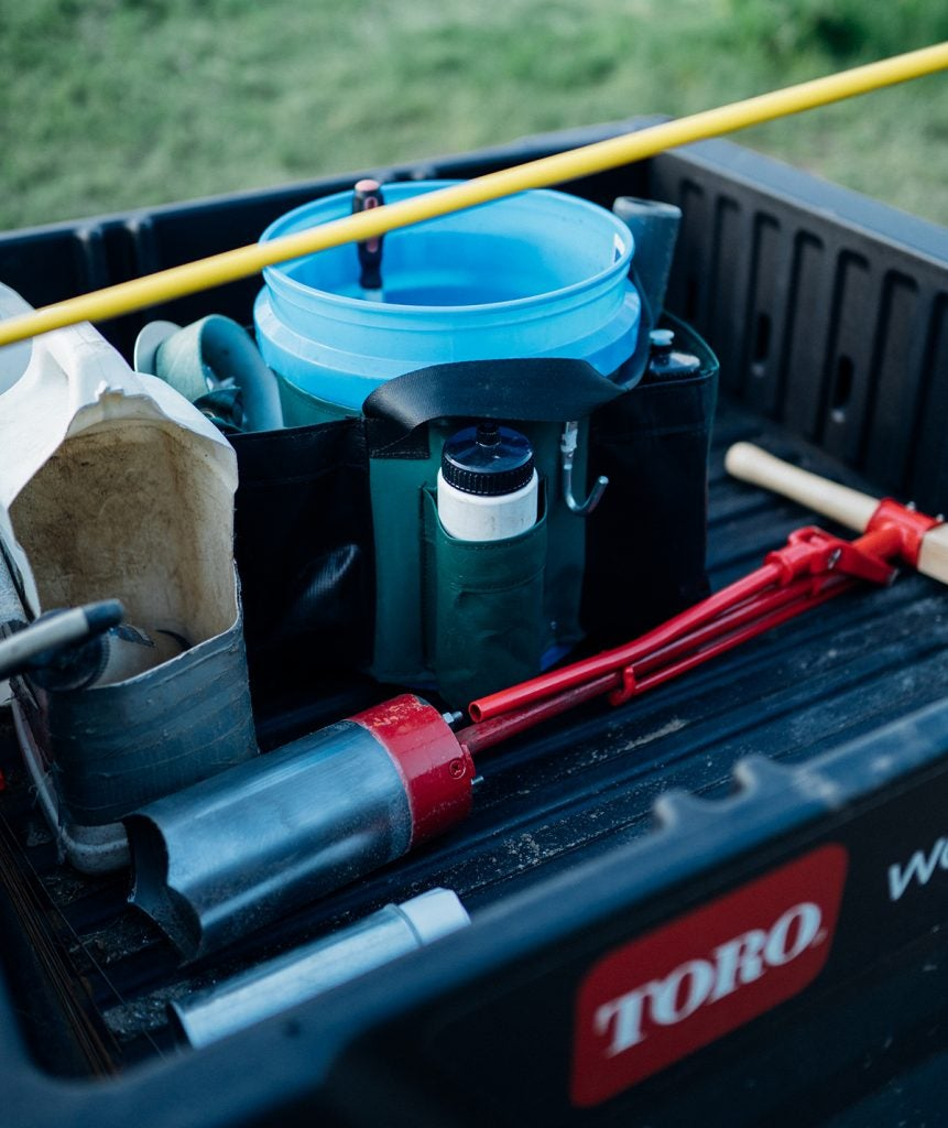A superintendent's tools.