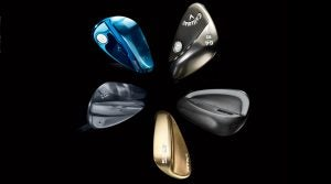 5 wedges with attractive wedge finishes