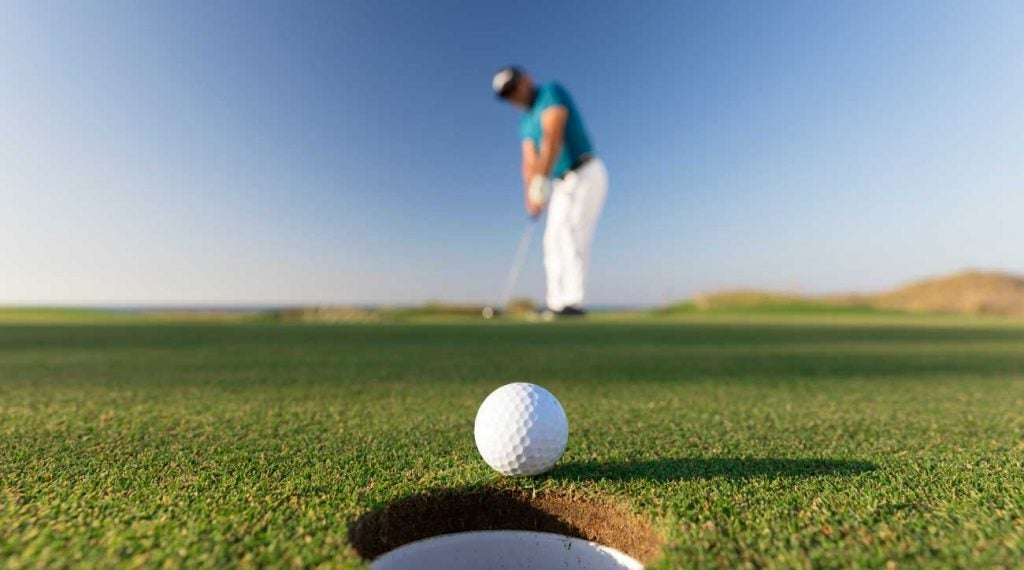 This won't always be the result. So don't convince yourself every putt is going in.