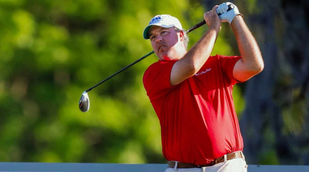 Boo Weekley does not want to contribute to any slow play problems.