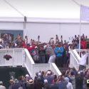 Branden Grace hospitality tent