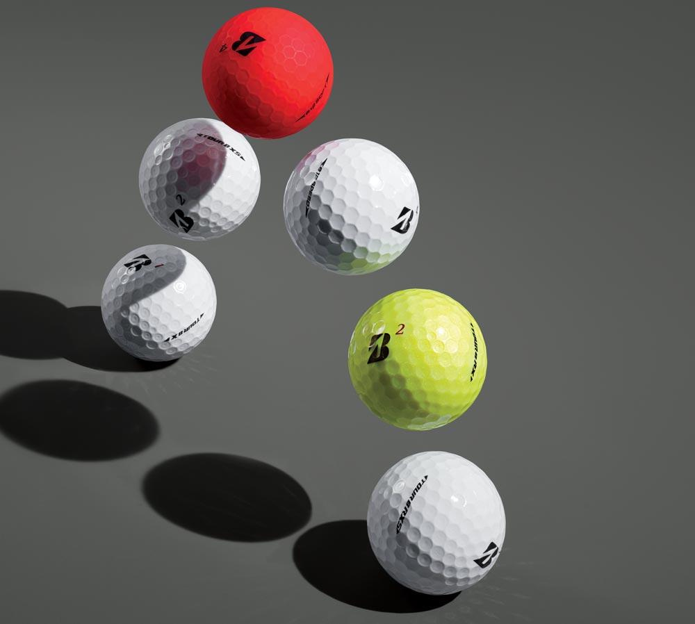 Bridgestone's golf ball line for 2019.