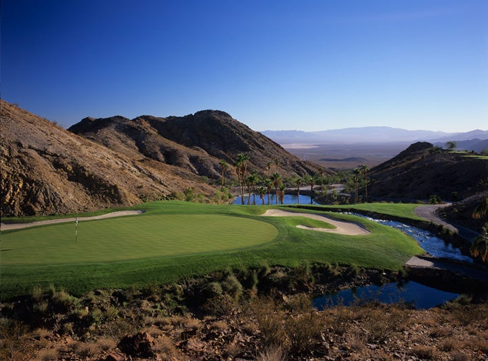 Cascata, $499: At this Rees Jones design just outside Vegas, water is pumped up a mountain in the morning, and it meanders through the course -- and rushes through the clubhouse. Presumably, your fees go toward the water bill.