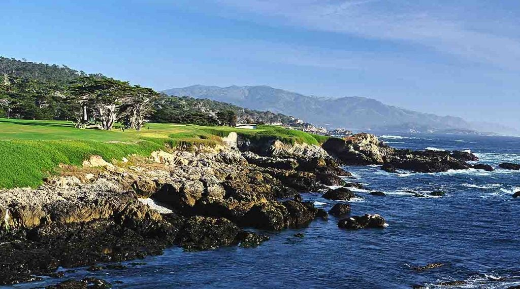 The 17th at Cypress Point.