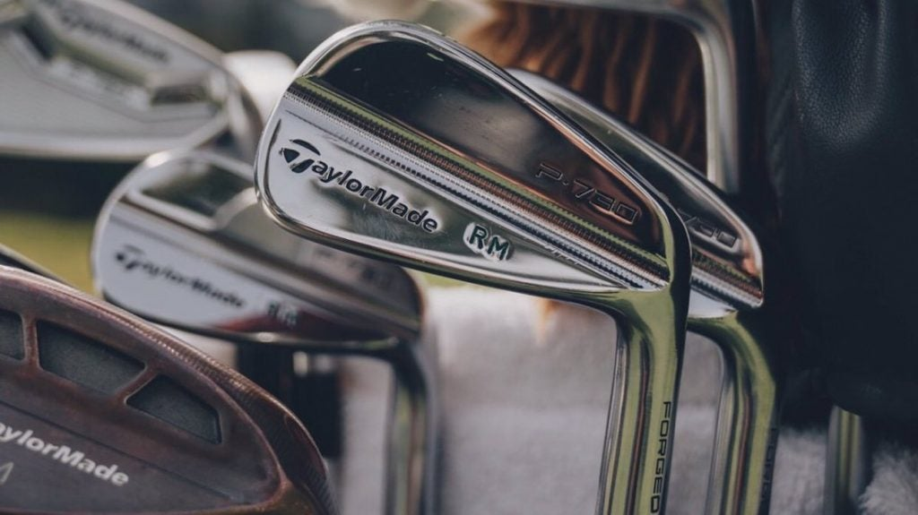Rory McIlroy's TaylorMade P730 irons.