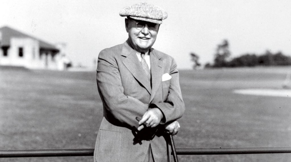 A portrait of Donald Ross in 1935.