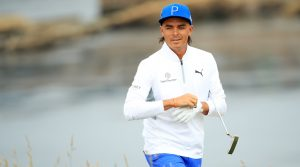 Rickie Fowler uses a Scotty Cameron Newport 2 GSS putter.