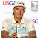 Rickie Fowler's retro King Cobra golf hat.