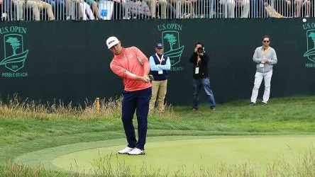 Gary Woodland, 17th hole, 2019 U.S. Open