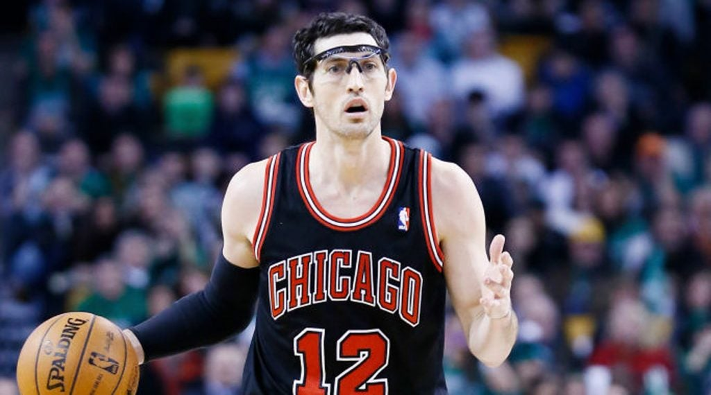 Kirk Hinrich wasn't an easy first defensive assignment in college for freshman Gary Woodland.