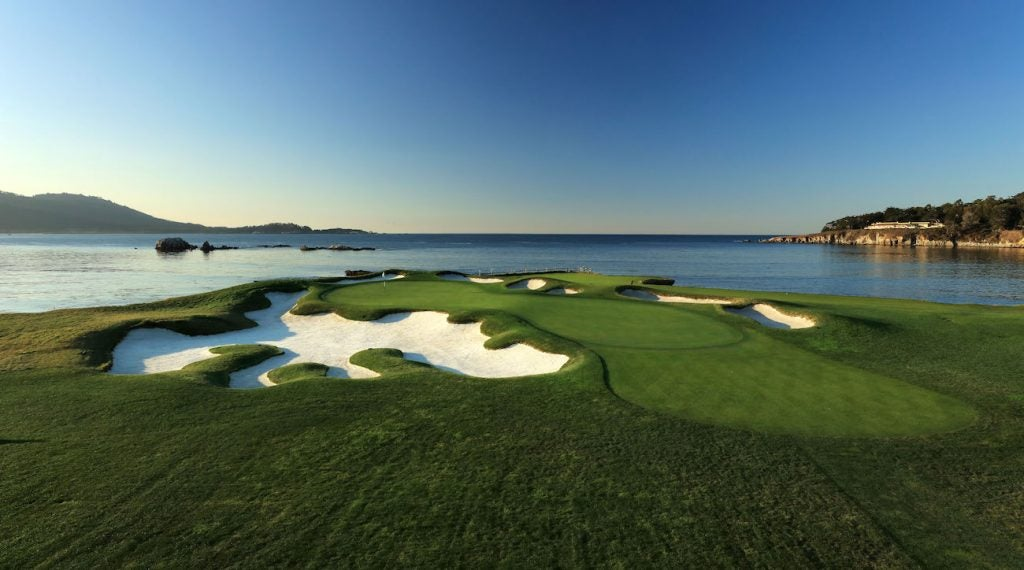 Pebble Beach was the home of the U.S. Open for the sixth time last week.