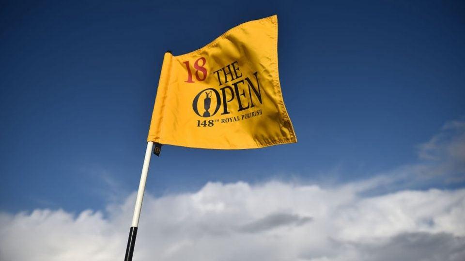 open championship purse