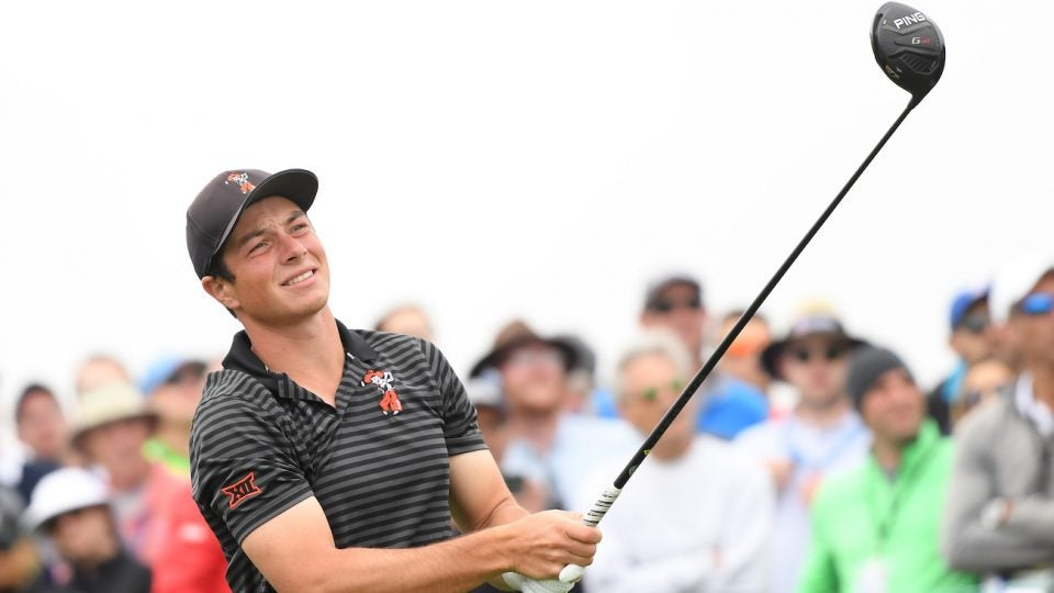 Viktor Hovland is reportedly set to turn pro after the U.S. Open.