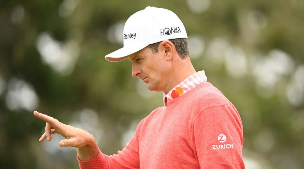 Justin Rose is eyeing up his second U.S. Open title this weekend.