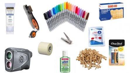 golf bag essentials
