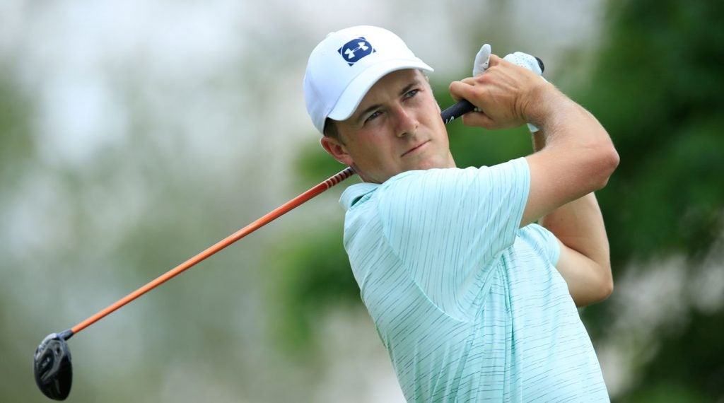 Jordan Spieth is hoping his recent resurgence can result in a trophy at the Memorial this weekend.