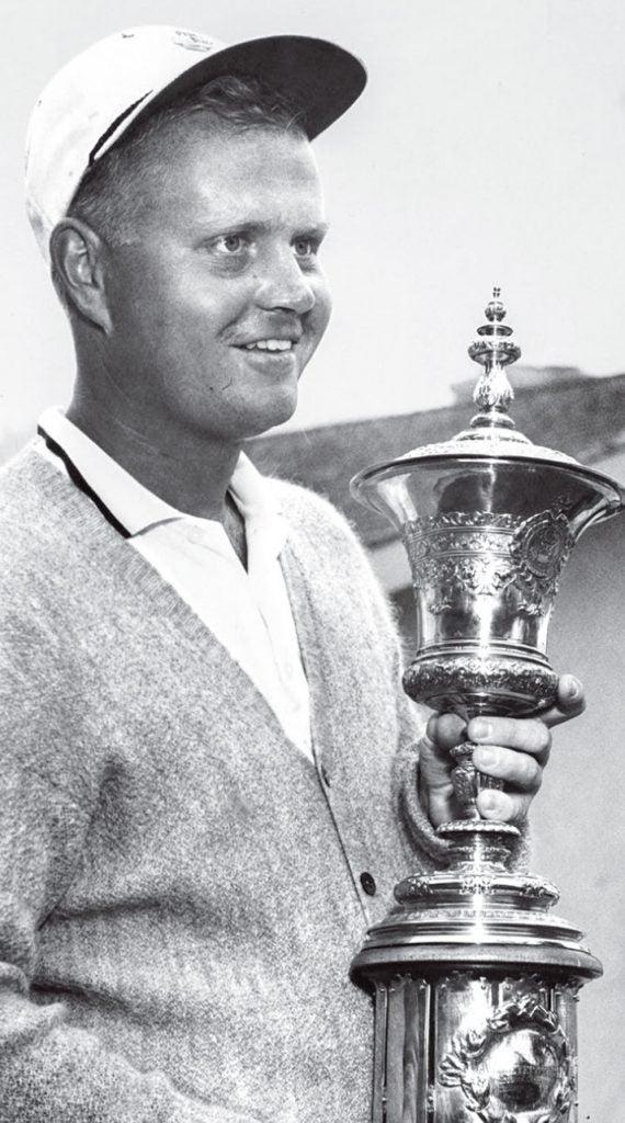 Nicklaus at the 1961 USGA National Amateur Championship.