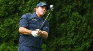 Phil Mickelson was spotted with Callaway X Hot 3Deep in Connecticut.