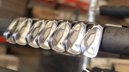Miura's yet-to-be-released Proto irons.