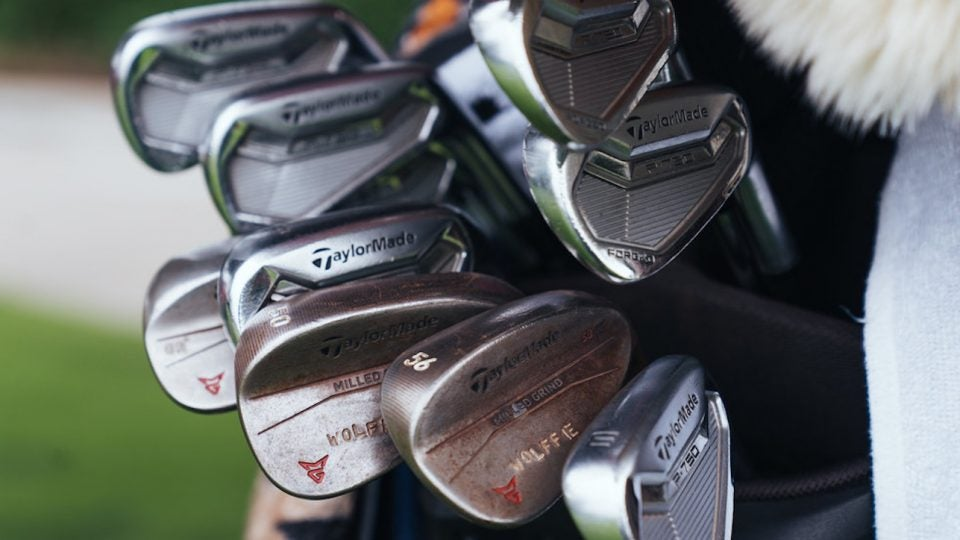 Matthew Wolff's TaylorMade equipment.