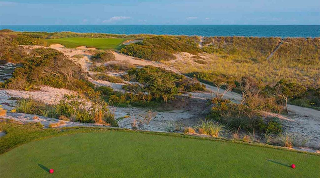 The 14th hole at Maidstone on Long Island.