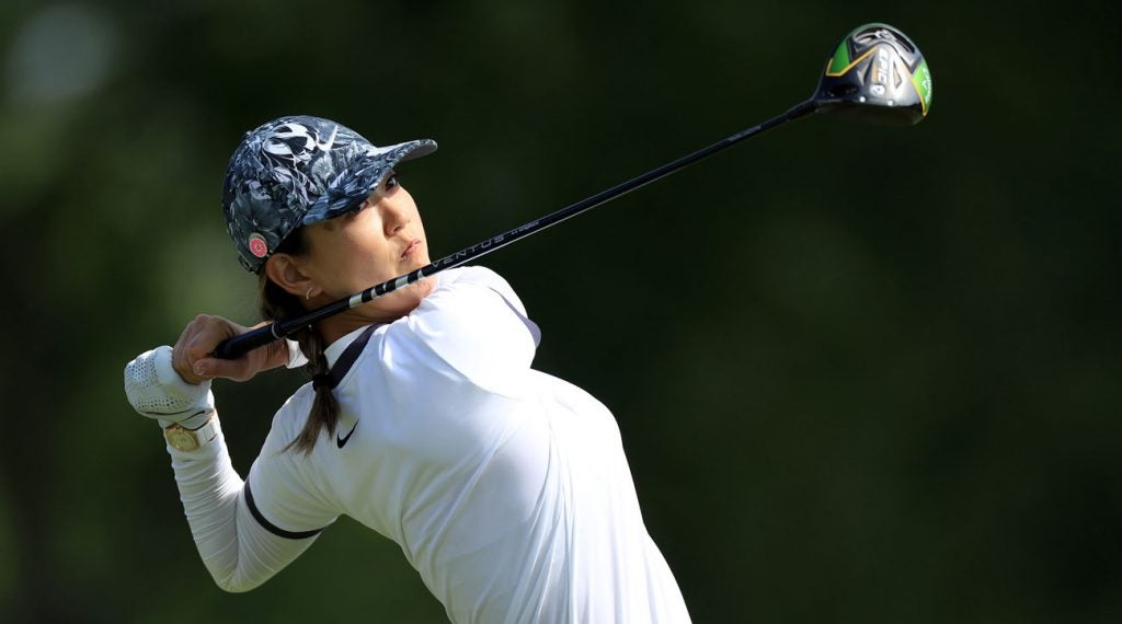 Michelle Wie was moved by fan reaction to her struggles at Hazeltine.