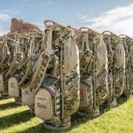 Ping staffers will use camo carry bags in Detroit.