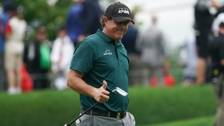 Phil Mickelson Travelers Championship