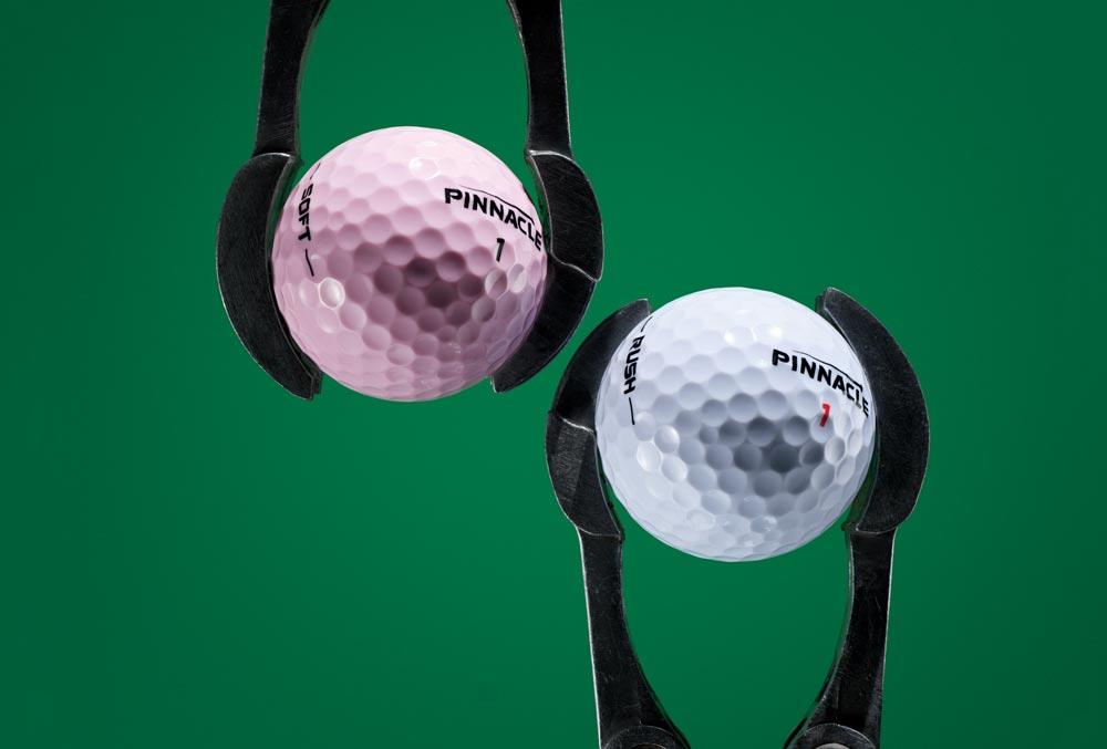 Pinnacle's golf ball line for 2019.