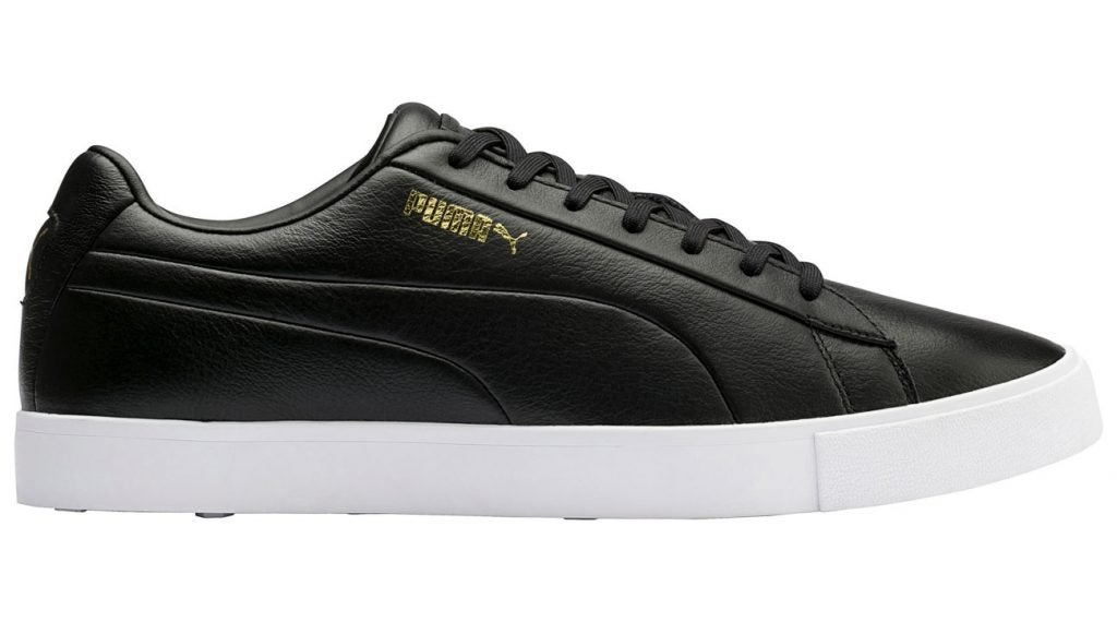 The Puma Original G is a leather shoe that mimics the styling of Puma's iconic suede shoe from 1968.