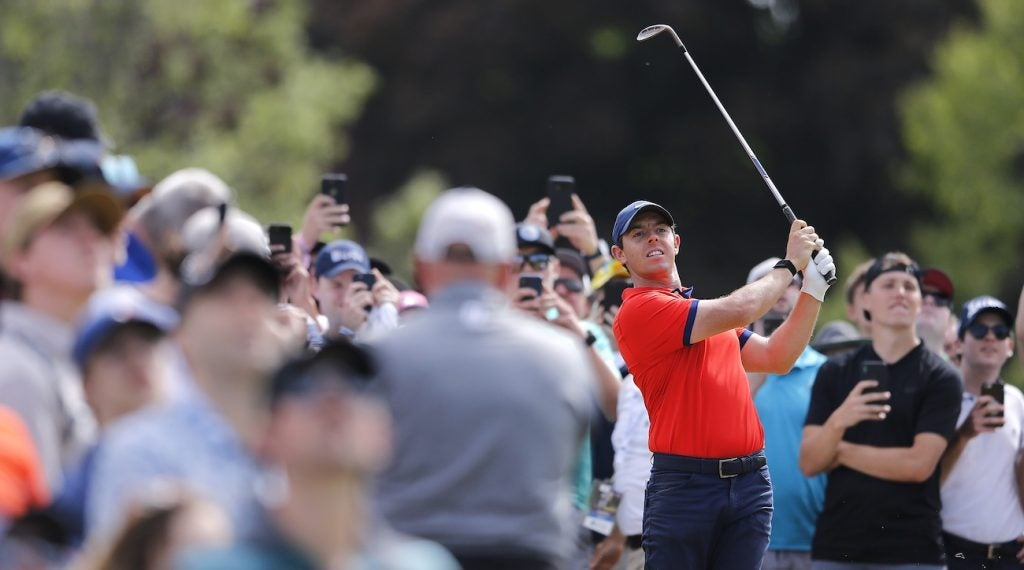 Rory McIlroy returned to a four-wedge setup in Canada.