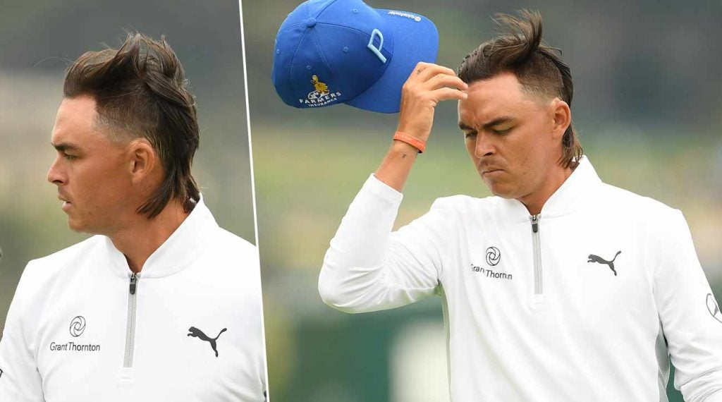 Rickie Fowler's late-spring mullet was a social-media sensation.