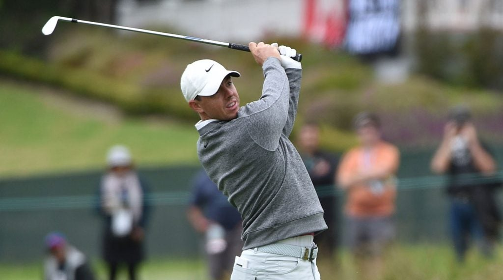 Rory McIlroy is seeking his fifth major championship and second U.S. Open title.