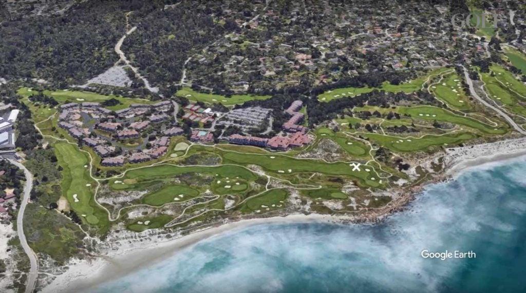 Spanish Bay Golf Links has a dramatic coastline.