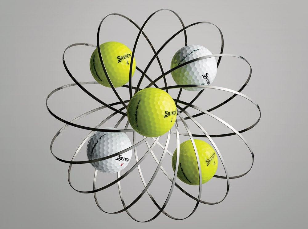 Srixon's golf ball line for 2019.