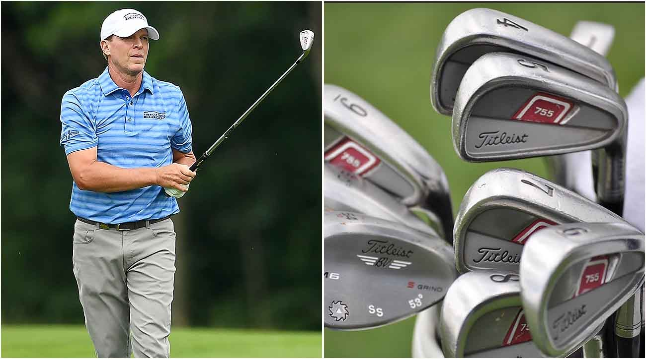 Steve Stricker, U.S. Senior Open, Titleist Irons