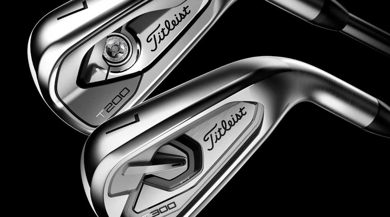 Titleist T200 and T300 irons debut at Travelers Championship