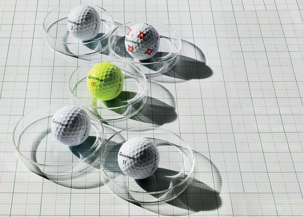 TaylorMade's golf ball line for 2019.