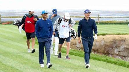 Tiger Woods, Justin Rose, Jordan Spieth