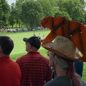 tiger woods hat guy fans