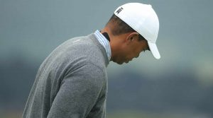 Tiger Woods back pain