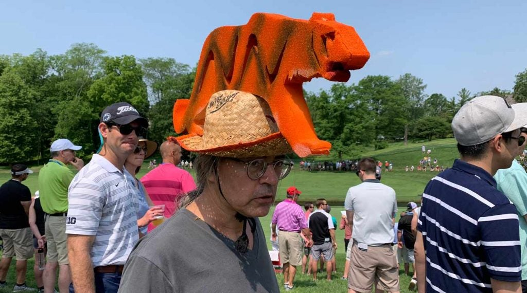 Robert Drlicka has been a big Tiger Woods fan for more than 20 years.