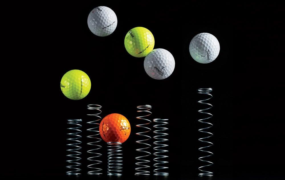 Titleist's golf ball line for 2019.