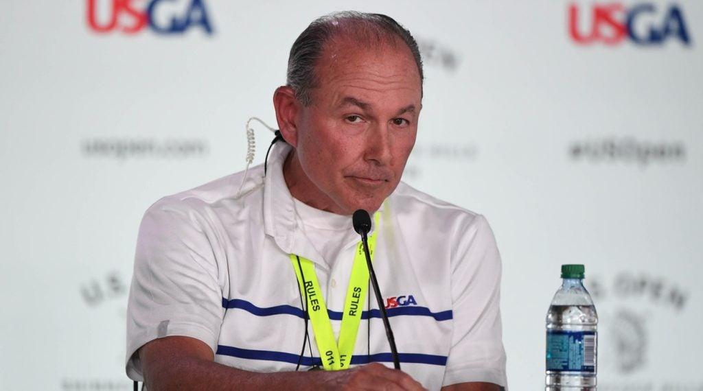 John Bodenhamer is responsible for course setup at the U.S. Open for the USGA now.