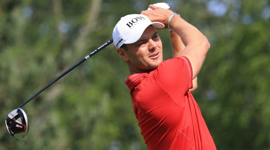 Martin Kaymer leads after 54 holes at Muirfield Village.